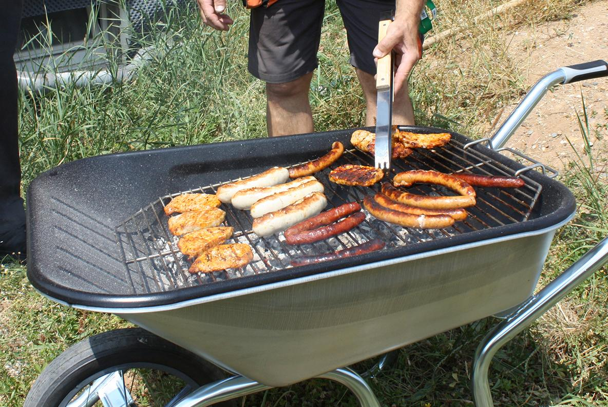 La brouette barbecue H'Grill by Haemmerlin | Haemmerlin