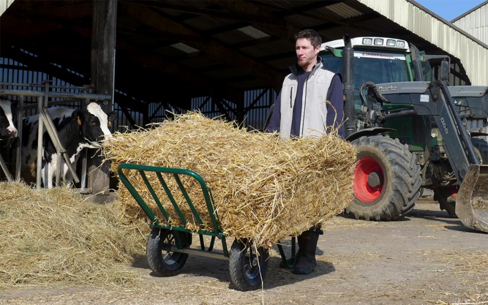 Ideal for agricultural works and riding school upkeep
