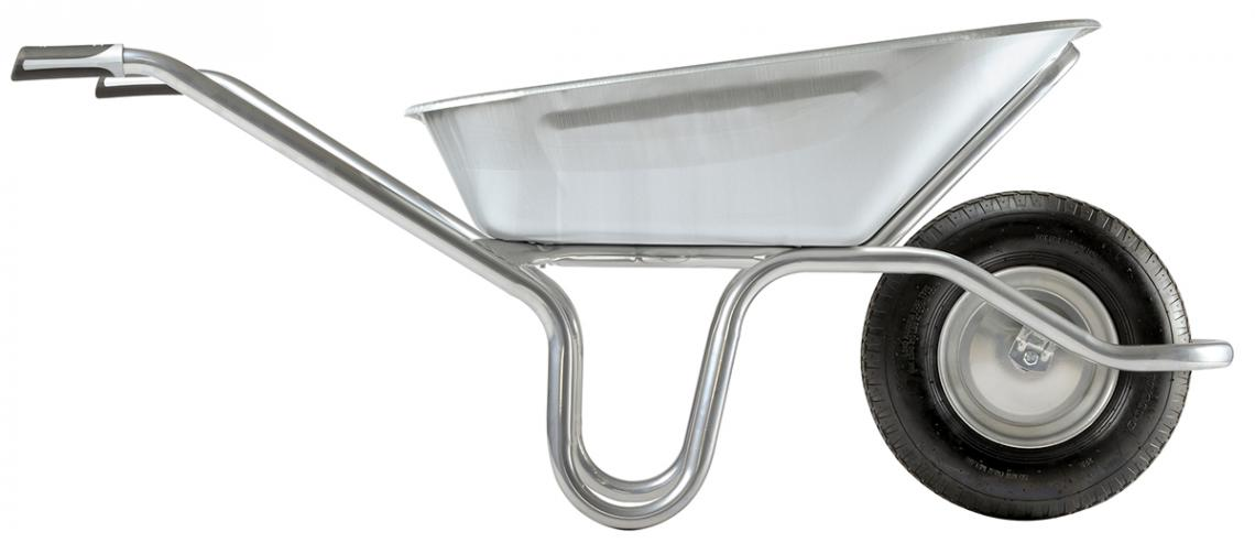 Alpha frame, for the heaviest jobs ! Reinforced by a welded support holding the front of the tray